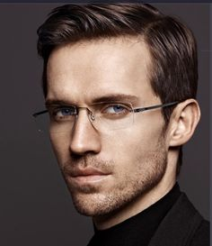 Lindberg Precious Men 2015 available from James Doyle Opticians, Wilmslow Mens Frames, Mens Glasses Frames, Andrew Cooper, Sexy Men, Eyewear, Men's Fashion, Writing, Sunglasses, Accessories