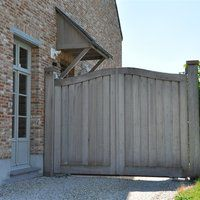 Ramen en buitendeuren categorie Grill Gate, Driveway Gate, Love Home, Garden Gates, Stables, Country Living, Home Remodeling, Shed, New Homes