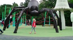 Ridiculously Imaginative Playgrounds by Monstrum