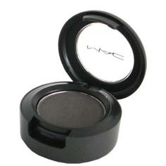 Print eyeshadow by MAC (satin finish, muted gray with shimmer; sultry lid color)