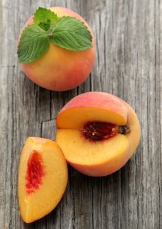 peaches...I miss them already.  luckily I have 10 jars of peach jelly to get me through til next season