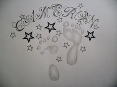 38 best Drawing Of Baby Names Tattoo Designs images on Pinterest ...