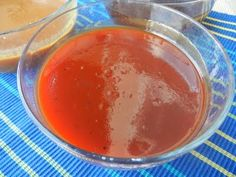 Basic Sweet & Sour Sauce  - Ingredients: 2/3 c. apple cider vinegar,   1 3/4 c. ketchup,1 1/2 c. brown sugar,   1 t. salt,1 t. black pepper, Dash of cayenne pepper,1 t. garlic powder or 1 clove fresh garlic minced.  http://dealstomeals.blogspot.com/2011/04/teriyaki-thai-peanut-sweet-and-sour.html