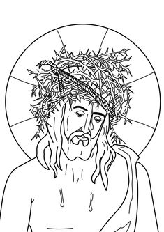 holy week coloring pages Cross Tattoo Designs, Saints, Crown Of Thorns, Holy Week, Catechism, Spring Has Sprung, Rustic Farmhouse Decor, Coloring Pages, Coloring Bible