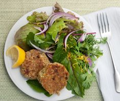 Lemony Chickpea Burgers are fluffy and delicious! Get this reader finalist recipe from our blog.