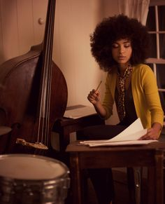 soul-is-amazing:  Esperanza Spalding courtesy of Montuno Productions, photo by Sandrine Lee.