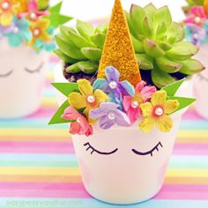 Give your succulent (or any other plant) a wonderful, magical even, home in a DIY unicorn planter. This adorable little plant pot is super easy to make, and is certainly made to impress (also a wonderful mother's day idea for a handmade gift). *this post contains affiliate links* Succulents are pretty awesome on their own, …
