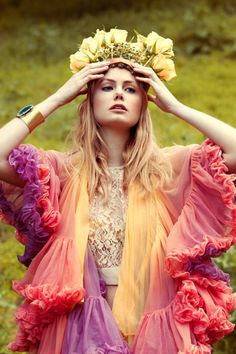 """Hippie Style ♥-- """" To PAIR with Some VERY chic Cowgirl Boots To Add even MORE fun & personality"""" - Celeste Alayne"""