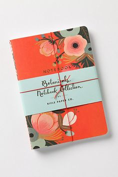 #FlowerShop...Sweet Briar Notebooks #anthropologie