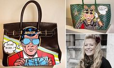 It almost seems too coincidental that six months ago, a painter legally named Boyarde would discover Goyard handbags as her new favorite canvas.