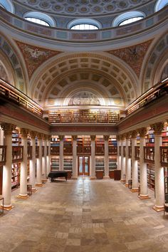 47. The National Library Of Finland, Helsinki, Finland from 45+ of the Most Majestic Libraries of the World