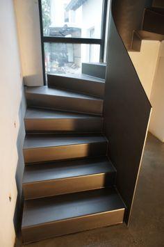 Halbgewendelte Treppen treppenbau becker treppen treppenbau holztreppen