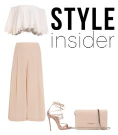 """""""style insider"""" by multifandom01 ❤ liked on Polyvore featuring TIBI, Dsquared2, Givenchy, contestentry, laceupsandals and PVStyleInsiderContest"""