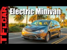 2017 Chrysler Pacifica Hybrid Review: First Plug-In Hybrid Minivan New Dodge, Chrysler Pacifica, First Drive, Caravan, Plugs, United States, Youtube