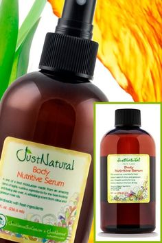 Body Nutritive Serum   Just Tanning   Just Nutritive