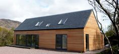 Modern self build house kits from Hebridean Contemporary Homes.