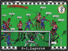 Getafe CF , 0 - Athletic Club , 1 - Laporte