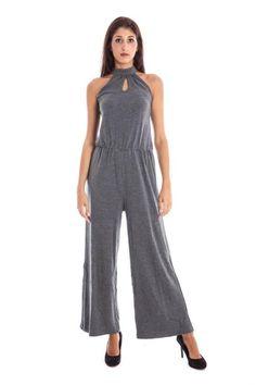 Pantaloni Donna Lavand. (BO-125C1-8-1 GY) colore Grigio