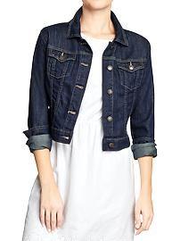 Women's Cropped Denim Jackets