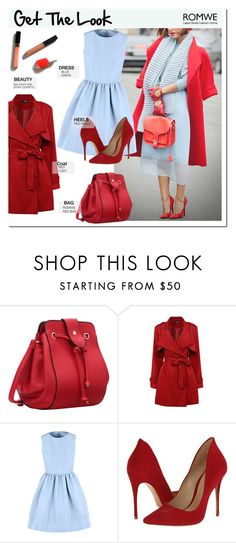 """""""get the look"""" by pankh ❤ liked on Polyvore featuring RED Valentino, Schutz, women's clothing, women's fashion, women, female, woman, misses and juniors"""
