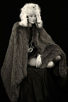 Soft Touches – Bruna Tenorio walks the line between ladylike glamour and rugged beauty in the December issue of SCMP Style Magazine, photographed by Blair Getz Mezibov. Styled by Marcus Teo, Bruna sports a wardrobe of contrast full of furs, feather and leather from the likes of Oscar de la Renta, Alexander McQueen and Ralph Lauren. / Hair by Kenshin Asano, Makeup by Stevie Hyunh