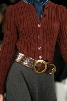 See detail photos for Ralph Lauren Fall 2013 Ready-to-Wear collection.
