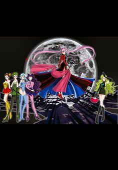 Black Moon, Sailor Moon, Darth Vader, Fictional Characters, Sailor Moons, Fantasy Characters