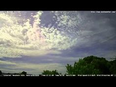 Adelaide weather time Lapse  Sun 06 03 2016