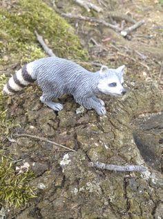 Schleich raccoon 1