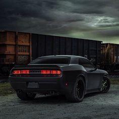Mean Dodge Challenger www.musclecarfuturefortune.com