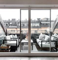 Stockholm Attic Apartment With Modern Interiors