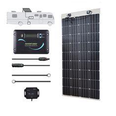 Renogy 80 Watts 12 Volts Monocrystalline Solar Panel Off Grid 12V for Camping RV