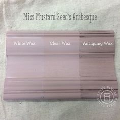 Miss Mustard Seed's Milk Paint in Arabesque With Antiquing Wax, White Wax and Clear Wax! | Suite Pieces