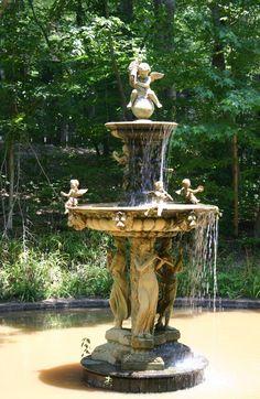 Castle McCulloch fountain