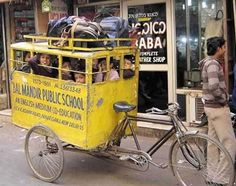 school bus in india, Mean Jeans job would b alot easier with them all locked up like that.........and id b skinnier too!