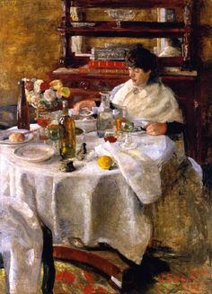 The Oyster Eater Painting by James Ensor | Oil Painting