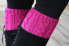 Hand knitted leg warmers/boot cuffs/ boot cover 100 by YingsStudio, $55.00