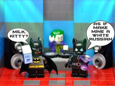 'Cats Got the Cream' -  it's time to get busy with your #Legosuperheroes & #Supervillains as #StevesSuperheroSunday is in full swing. That's right it's the photo contest for #legosuperheroes oh & #legosupervillains too!! It's real simple grab your fave Superhero or Villain take a NEW picture have fun & tag it #StevesSuperheroSunday and #vitruvianbrix then upload it. All pictures must be submitted by MIDDAY GMT MONDAY. Contest winners will be announced on Vitruvianbrix Monday or Tuesday…