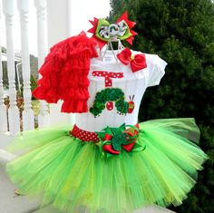 Hey, I found this really awesome Etsy listing at https://www.etsy.com/listing/169661557/very-hungry-caterpillar-tutu-and