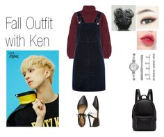"""""""Fall Outfit with Ken"""" by spicy-noodle ❤ liked on Polyvore featuring Chloé, Topshop, Gap, Anne Klein, PB 0110, Zelos, kpop, vixx and Ken"""