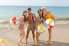 Teen Beach Movie : Grace Phipps, Garrett Clayton, Ross Lynch et Maia Mitchell
