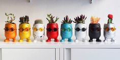 Spruce Up Your House Plants With These Whimsical, Customizable Monster Pots - DesignTAXI.com