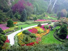 Butchart Gardens.  Wow! this is going to be fantastic.  Places to be