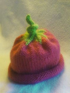 Berry Sweet Umbilical Cord Hat