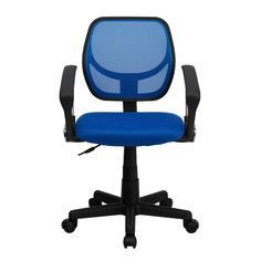 Flash Furniture Mesh Swivel Task Chair with Arms