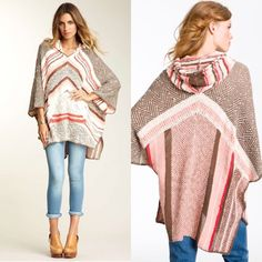 $1.99 shipping?!?!! NWOT. Free People Poncho I can make a new listing for $1.99 shipping! Free People Zorba Poncho. NWOT. Never worn. Been sitting in my drawer for a long time and I'd rather it go to someone who will wear it  Free People Sweaters