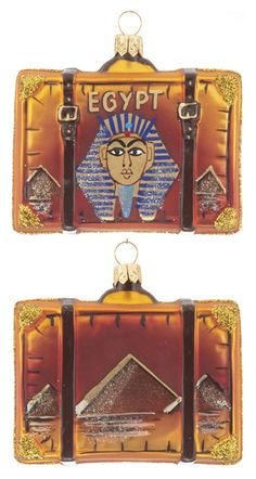 Seven Wonders of the World - Christmas Ornament Blog Ornament Shop brings the seven wonders of the world into your home without ever having to pack your bags!