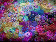Kaffe Fassett fabric... Beautiful!