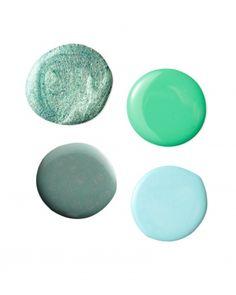 Mid-Greens- Summer Nail Colors