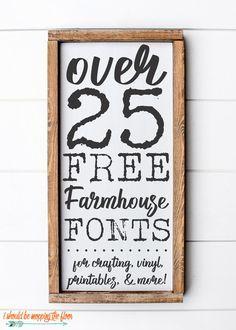 i should be mopping the floor: Free Fonts Fancy Fonts, Cool Fonts, Creative Fonts, Farmhouse Font, Farmhouse Signs, Farmhouse Style, Farmhouse Decor, Sign Fonts, Cursive Fonts